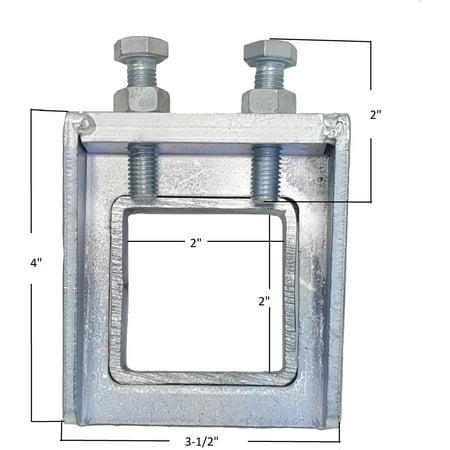 Hitch Stabilizer (MaxxHaul 70258 2-Bolt Sturdy Anti-Wobble 2