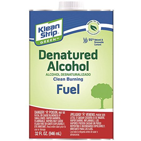 Denatured Alcohol - Cleans Brushes & Tools After A Shellac Project 1