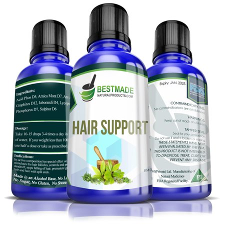 Natural Hair Care & Nourishment | Minimizes Symptoms of Hair Fall and Damaged Hair | Stimulates Hair Regrowth | Controls and Prevents Dandruff | Helps Reduce Premature Greying | Great for Men &