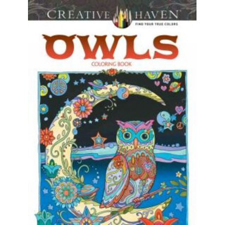 Creative Haven Owls Coloring Book ()
