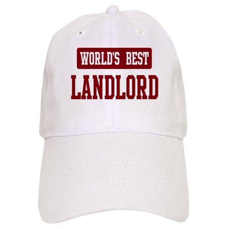 CafePress - Worlds Best Landlord - Printed Adjustable Baseball (Best Caps In The World)