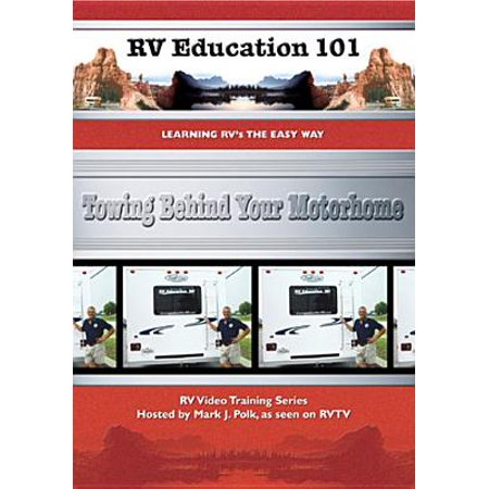 RV Education 101: Towing Behind Your Motorhome (Best Vehicle To Tow Behind Rv)