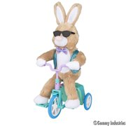 Way To Celebrate Easter Riding Bunny Plush