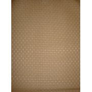 Antigua Dining Arm Chair in Royal Oak-Fabric:Brown Squares