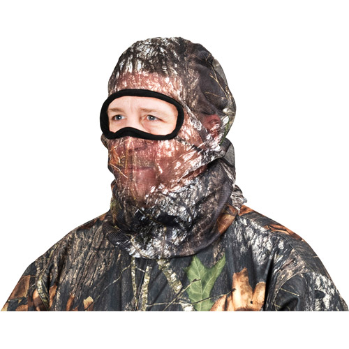 MAURICE SPORTING GOODS Mesh Headnet, Full Cover, Mossy Oak Camouflage