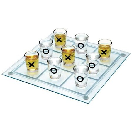 Maxam SPTTT Tic Tac Toe Game (Design 1, 1) Shot Glass - Personalized Shot Glass No Minimum
