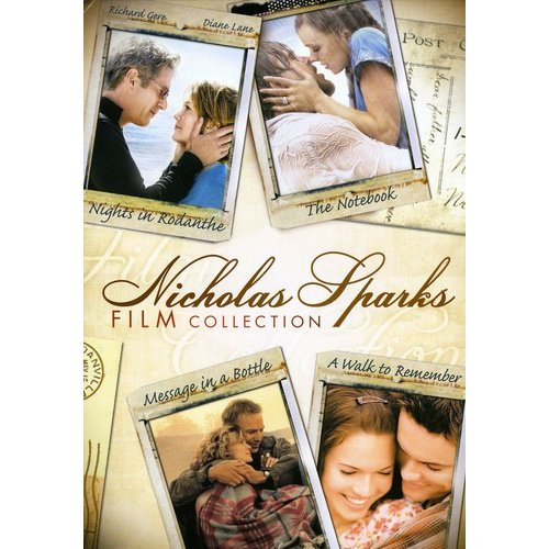 Nicholas Sparks Film Collection: Nights In Rodanthe / The Notebook / Message In A Bottle / A Walk To Remember (Widescreen)