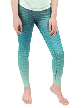 d6190d2f33456 Product Image Womens Mermaid Leggings - By Fin Fun, Great for Yoga, Fitness  and Running