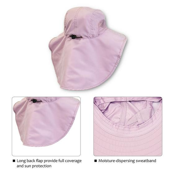 8f3df068 Tirrinia - Safari Sun Hats for Women Fishing Hiking Cap with Neck ...