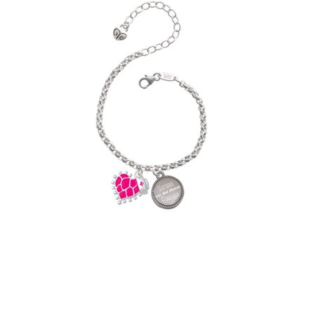 Hot Pink Giraffe Print Heart with Nurse Hat Sisters Are Best Friends Forever Engraved