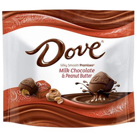 - Dove Silky Smooth Promises Milk Chocolate & Peanut Butter Candy, 7.61 Oz.