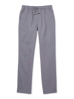 Wonder Nation Boys Pull On Pants, Sizes 4-18 & Husky