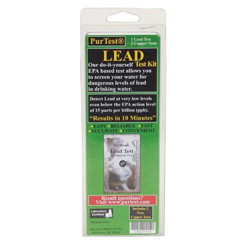 PURTEST 77701 Water Test Kit, Lead and Copper