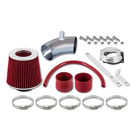 RL Concepts Red Short Ram Air Intake Kit + Filter 05-08 Mercury Mariner Sport 3.0 V6
