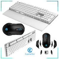 GameSir GK300 Wireless Mechanical Gaming Keyboard + Wireless Gaming Mouse