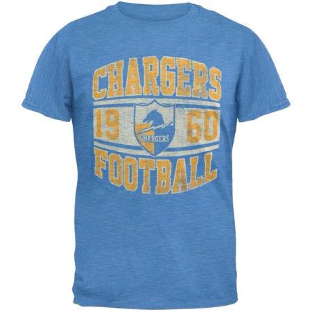 San Diego Chargers Vinyl - San Diego Chargers - Inaugural Logo Premium T-Shirt
