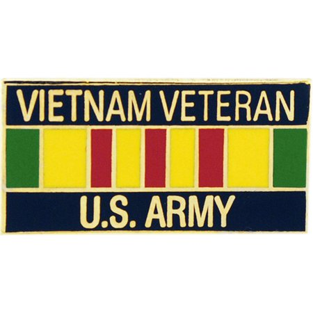 U.S. Army Vietnam Veteran Ribbon Pin 1