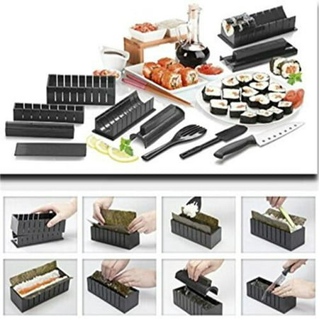 AGPtEK DIY Sushi Making Kit Roll Sushi Maker