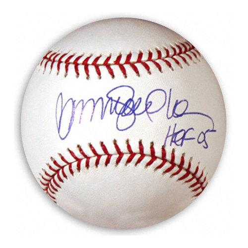 MLB - Ryne Sandberg Autographed Baseball | Details: MLB Baseball, HOF 05 Inscription