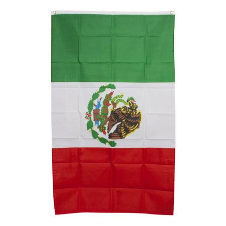 3' x 5' National Flag - Mexico](Mexian Flag)