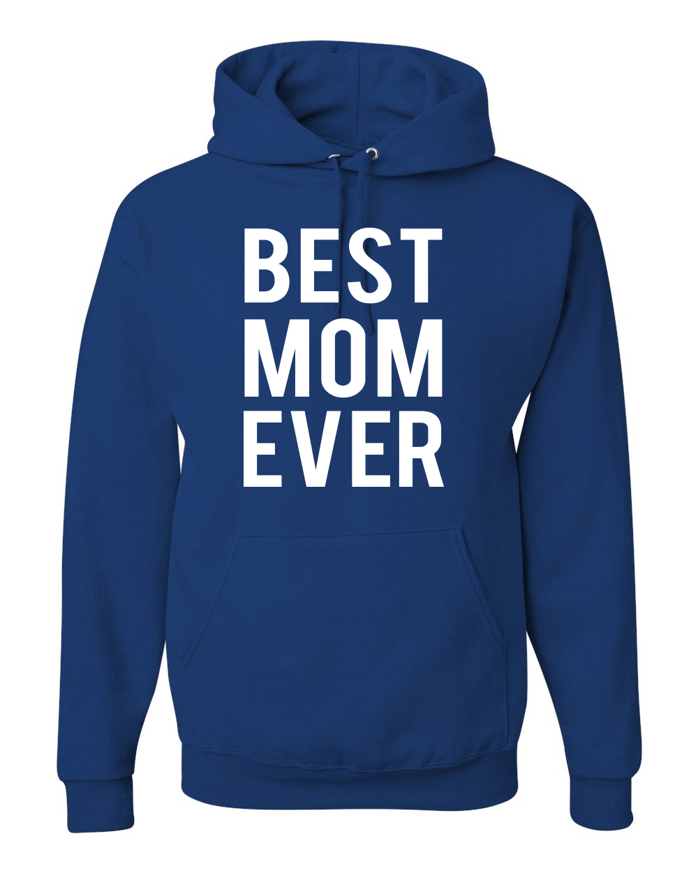 Sweatshirt Royal Blue Worlds Greatest mom Mothers Day
