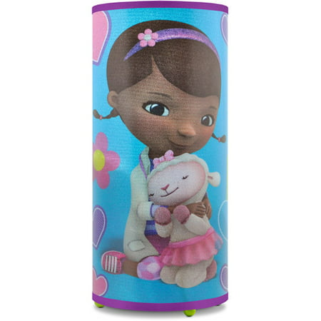 Disney Doc McStuffins Light Up Glitter Table Lamp- 10