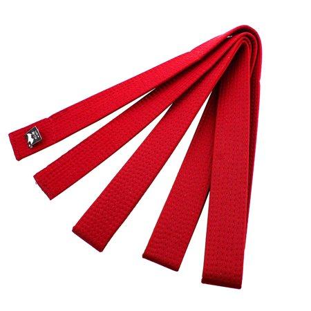 Adidas Karate Belts (Sporty Rank Hapkido Taekwondo Belt Judo Karate Band Red 280cm)