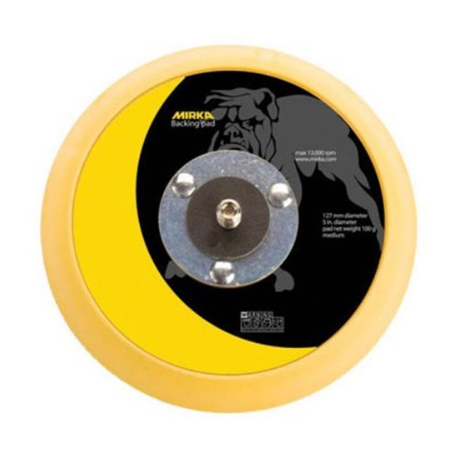 Mirka Ma105Gg 5 inch Grip Faced Backup Pad - Yellow