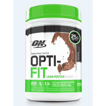 Optimum Nutrition Opti-Fit Lean Protein Powder, Chocolate, 25g Protein, 1.83