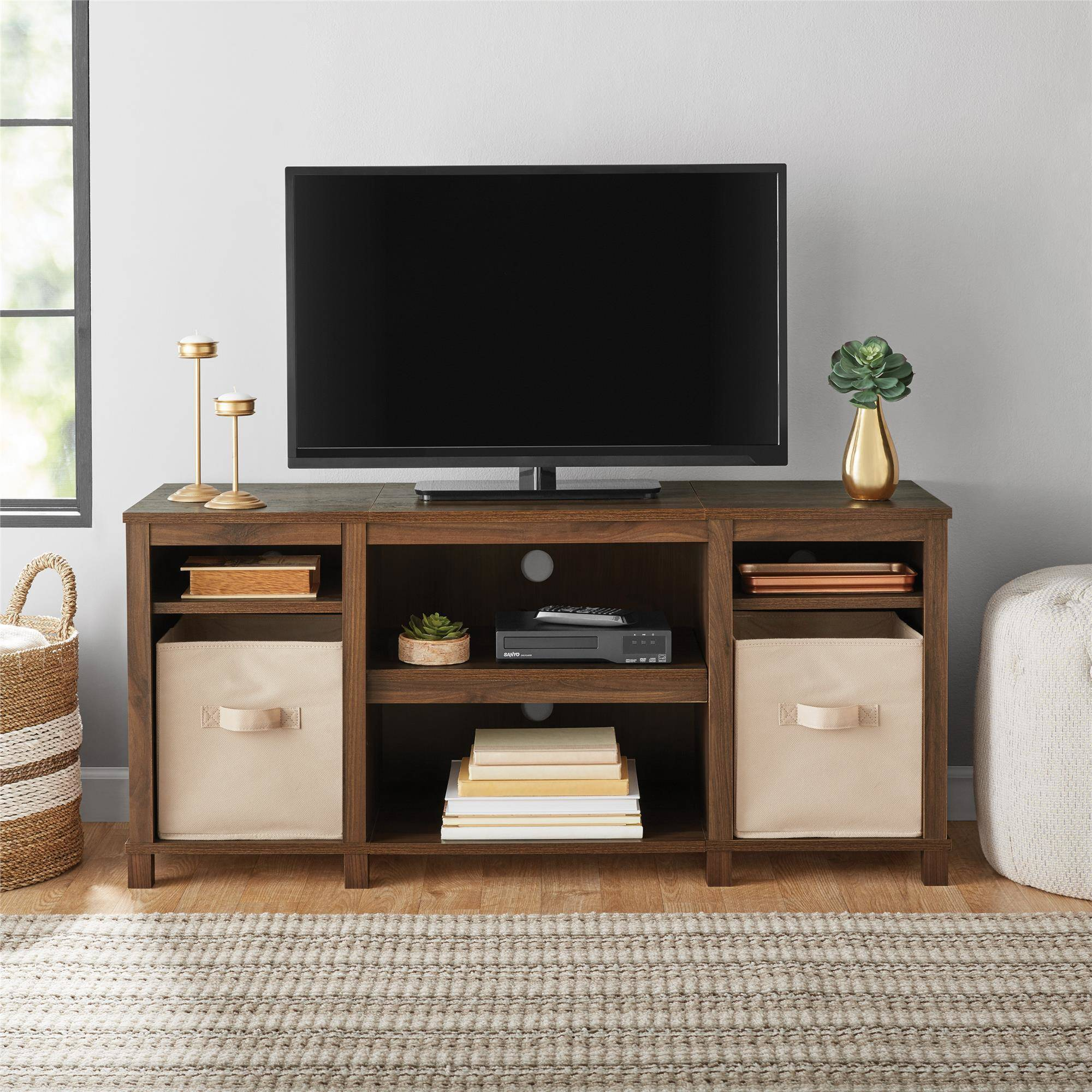 Attrayant Mainstays Parsons Cubby TV Stand, For TVs Up To 50u201d, Multiple Finishes    Walmart.com