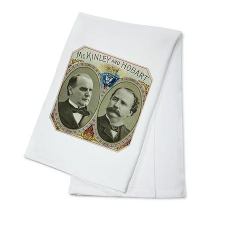 McKinley and Hobart Brand Cigar Box Label (100% Cotton Kitchen (Kids Hobart)