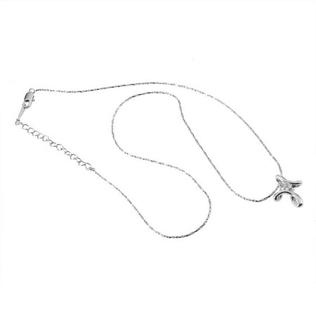 Platinum Plated Charm - 18K Charm White Gold Plated Platinum Plated Rhinestone Crystal Cross Necklace Pendant Fashionable Women Christmas Gift