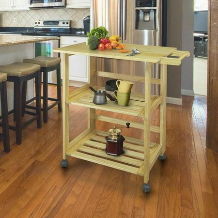 Trek Folding Kitchen Cart - Natural