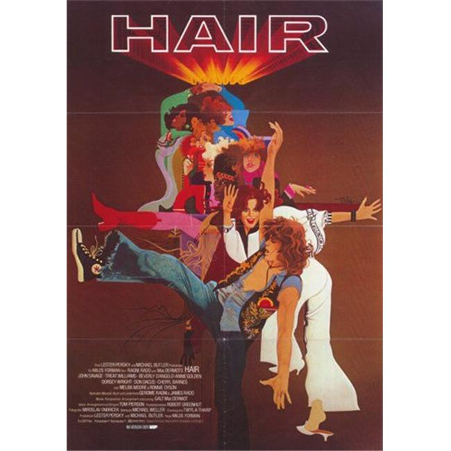 Posterazzi MOV376098 Hair Movie Poster - 11 x 17 in. - image 1 of 1