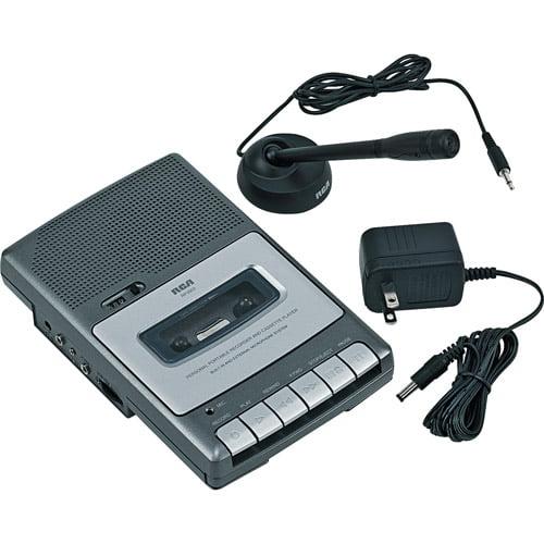 Rca Compact Shoebox Cassette Recorder, R