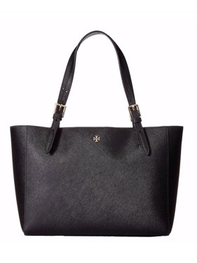 67c801db8e Product Image NEW TORY BURCH LEATHER YORK SMALL BUCKLE TOTE LUGGAGE BLACK  HANDBAG SHOULDER BAG