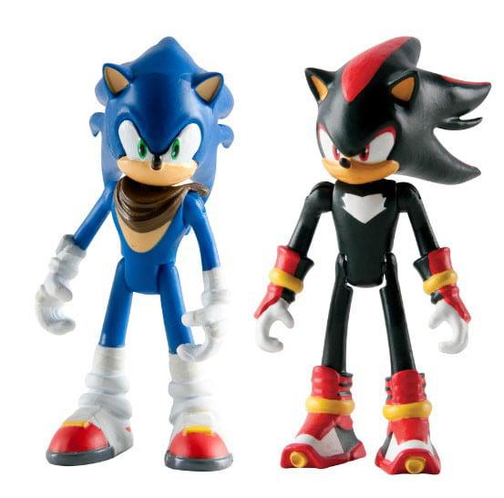 Sonic The Hedgehog Sonic Boom Sonic & Shadow Action Figure ...