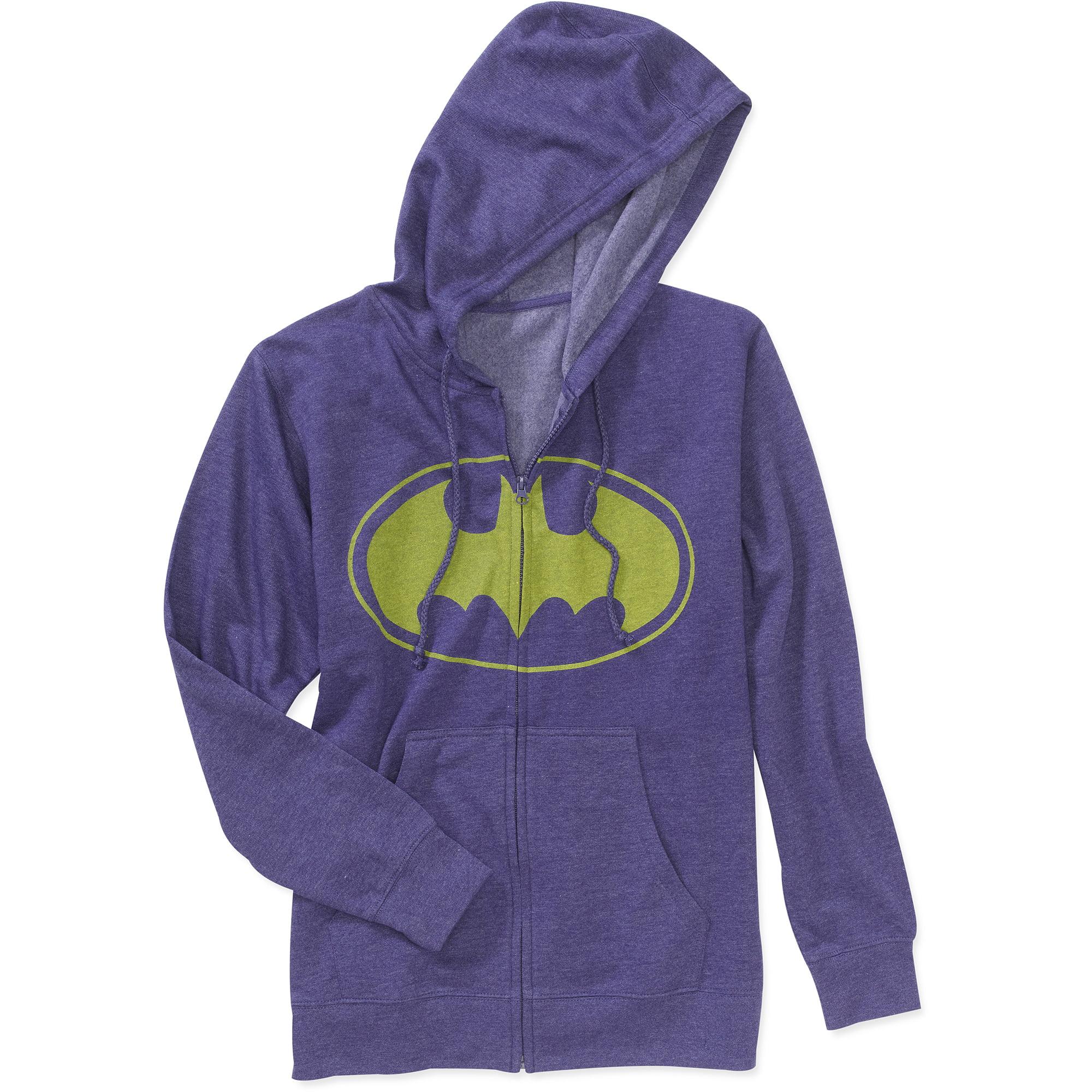 Batman Vintage  Big Men's Licence Full Zip Hoodie