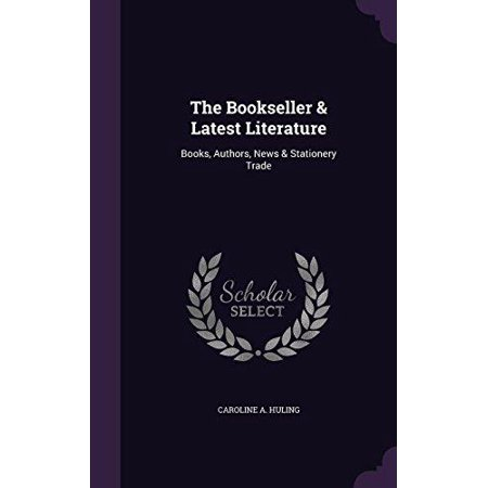 The Bookseller   Latest Literature  Books  Authors  News   Stationery Trade