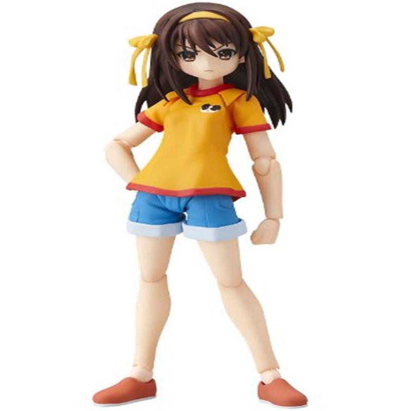 The Melancholy of Haruhi Suzumiya: Haruhi Suzumiya Junior High School ver. figma Action Figure