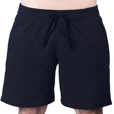 Men's Drawstring Cotton Lycra Sports Yoga Bermuda Shorts Pants