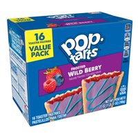 Pop-Tarts Frosted Wildlicious Wild! Berry, 16 Toaster Pastries