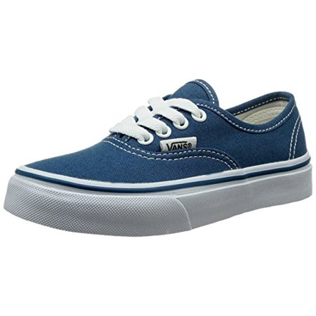 Vans VN-0WWXNWD: Authentic Canvas PS Skate Navy Sneaker (13 M US Little Kid, Navy/True - Kids Vans Clearance