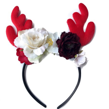 Cute Baby Toddler Infant Headband Christmas Stretch Hairband Headwear - Christmas Head Wear