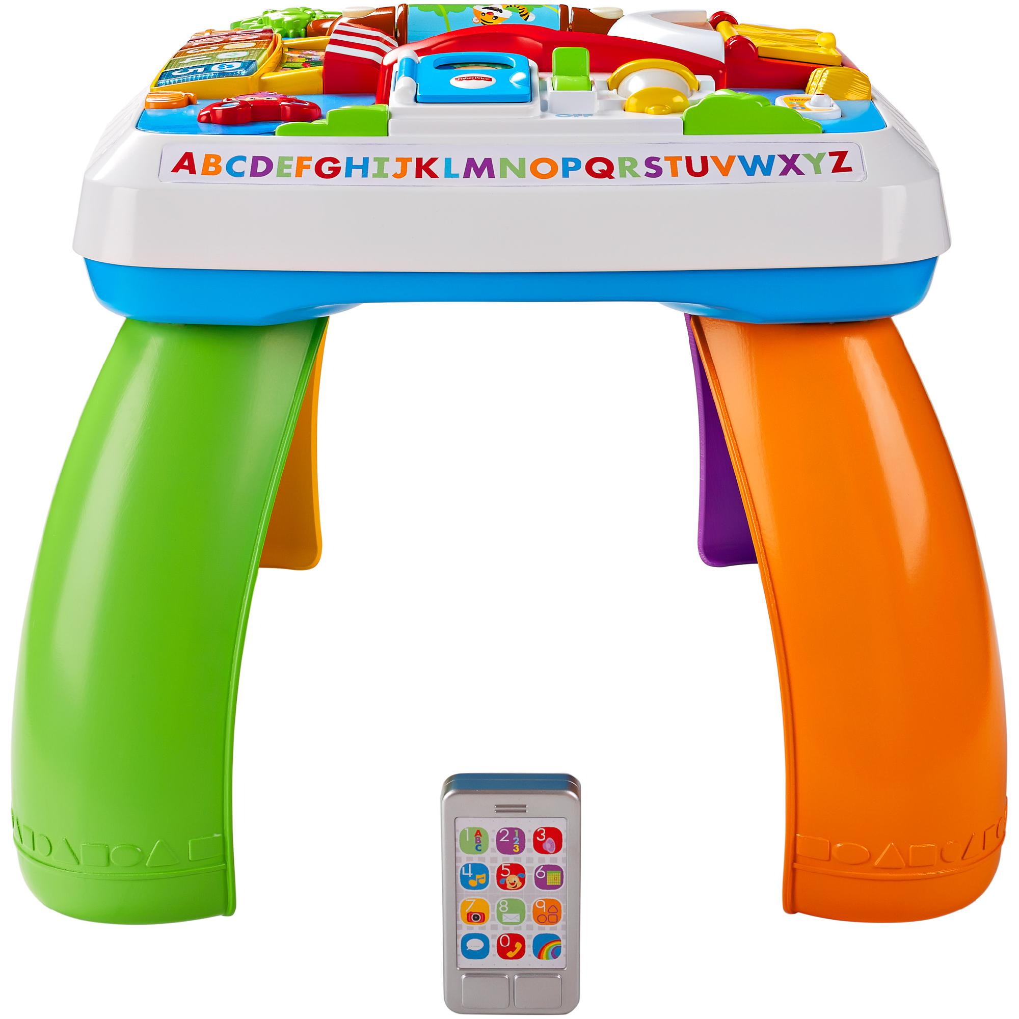 Fisher Price Laugh U0026 Learn Around The Town Learning Table   Walmart.com