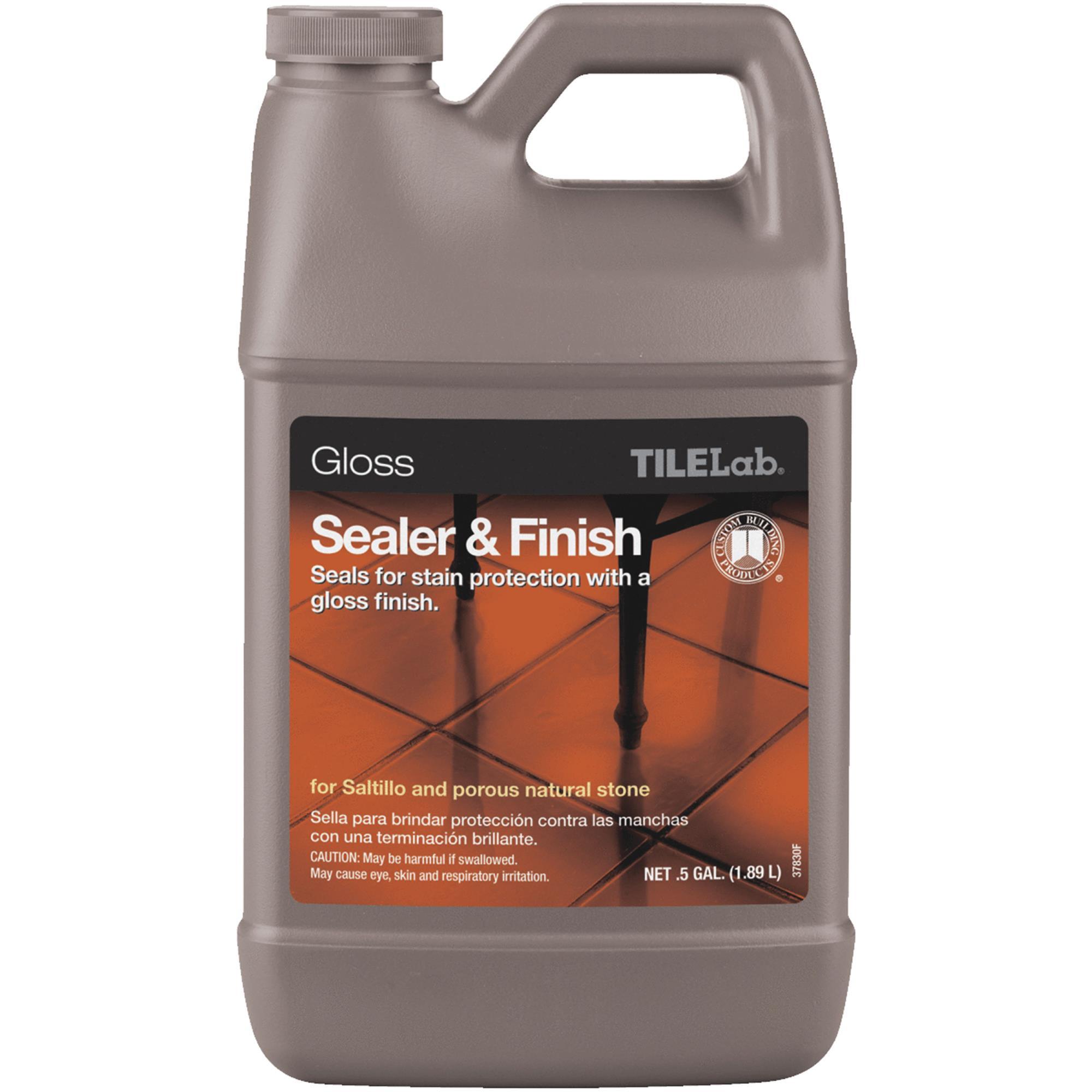 Custom Building Products TILELab Gloss Tile Sealer & Finish