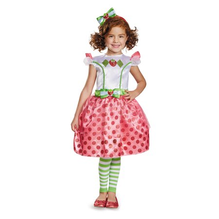 Strawberry Shortcake Classic Costume for Kids - Strawberry Shortcake Costumes