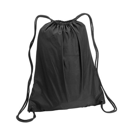 A Product of Liberty Bags Large Drawstring Backpack - BLACK - OS [Saving and Discount on bulk, Code Christo] (Drawstring Backpack Bulk)