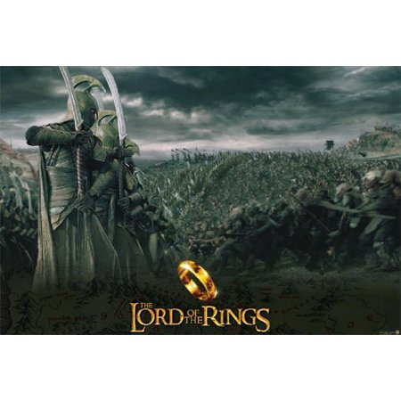 - The Lord Of The Rings Poster Armada a - New 24x36