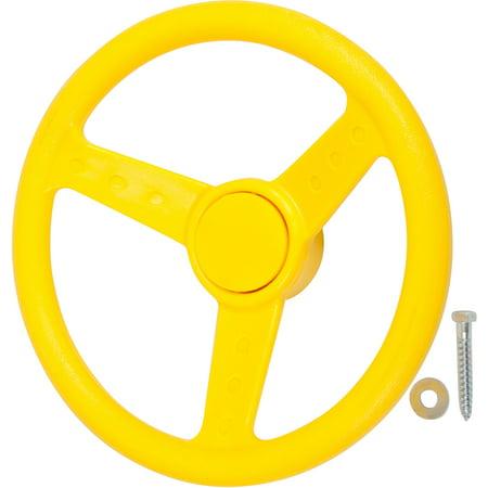 Swing Set Stuff Inc. Steering Wheel (Yellow)